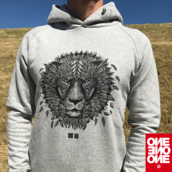 ONE ONE ONE Wear - Lion Hoody