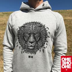 ONE ONE ONE Wear - Lion Hoody