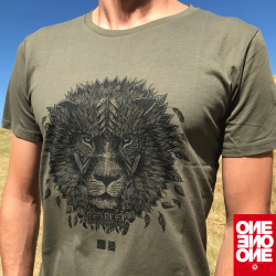 ONE ONE ONE Wear - Lion khaki