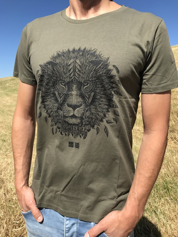ONE ONE ONE Wear - Lion khaki - size guide