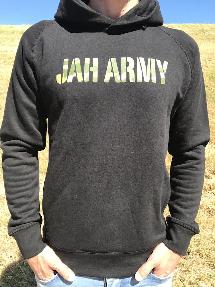 Jah Army - Camouflage white - size guide