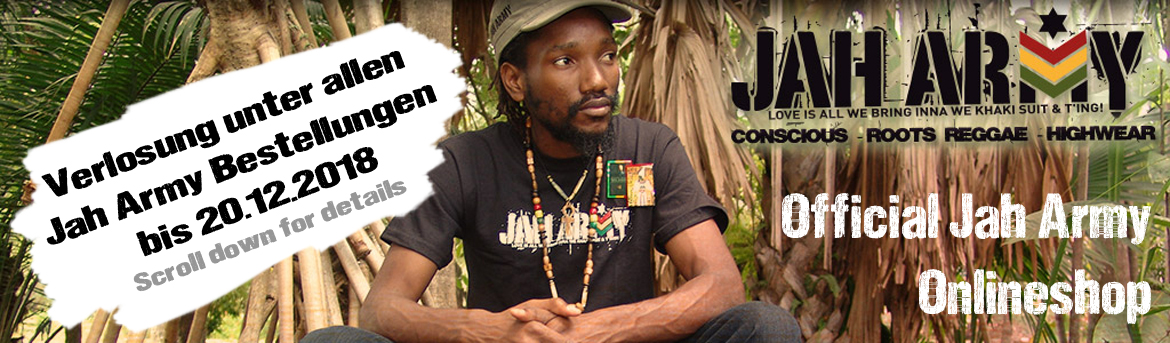 Official Jah Army Onlineshop
